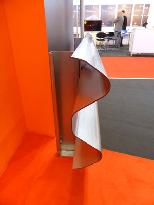 ArcelorMittal steel for safety barriers wins innovation award at Intertraffic 2014